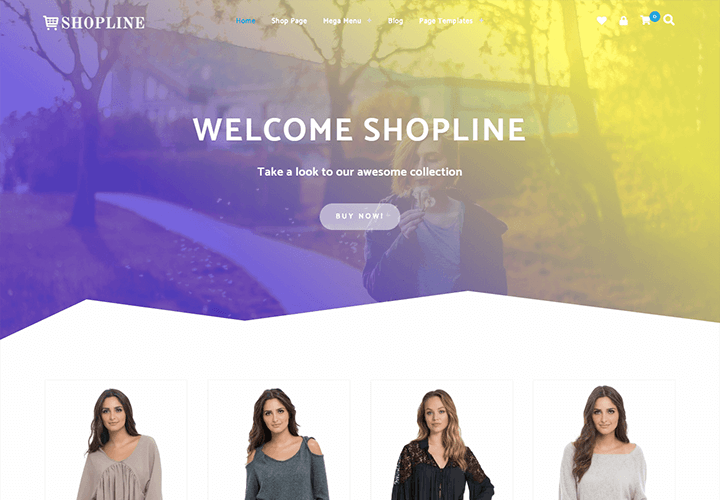 Premium Shopline WooCommerce Theme