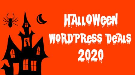 2020 Best Halloween WordPress Deals